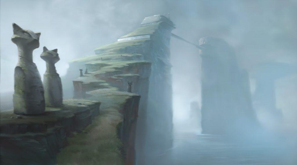 "Environment Concept Art for ""Bolt"" (2008)"
