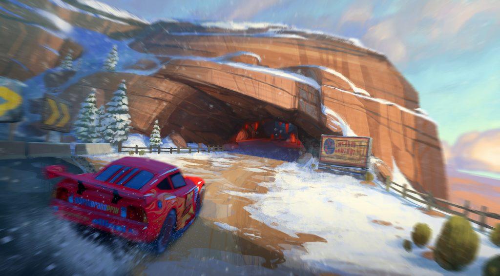 "Environment Concept Art for Radiator Springs ""Cars III"" Level (2016)"