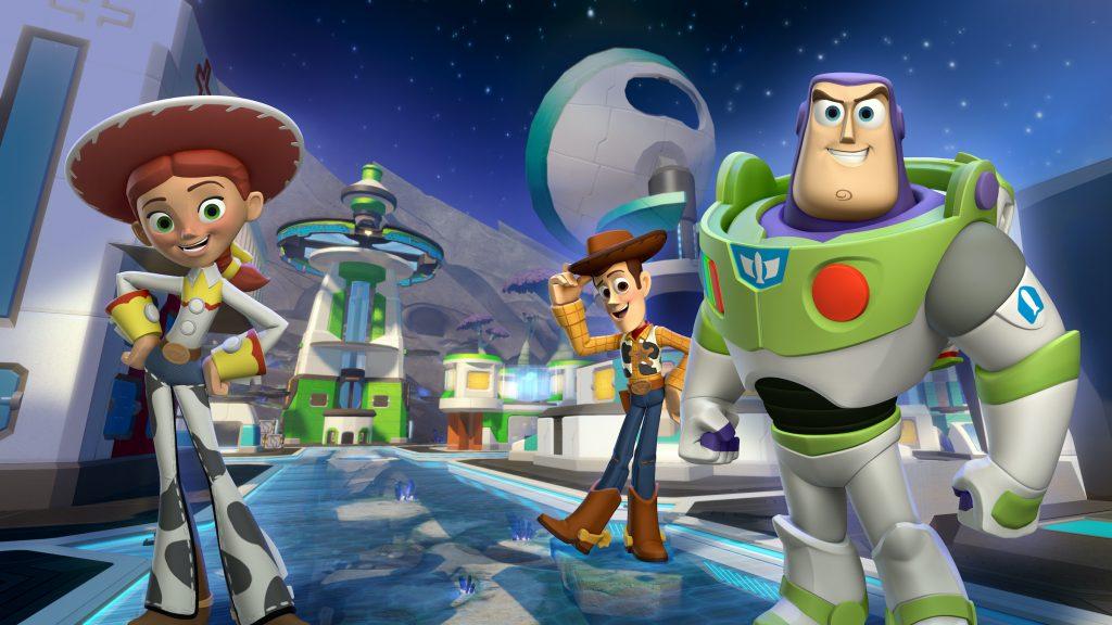 "Marketing piece for ""Disney Infinity: Toy Story"" Play Set (2013)"