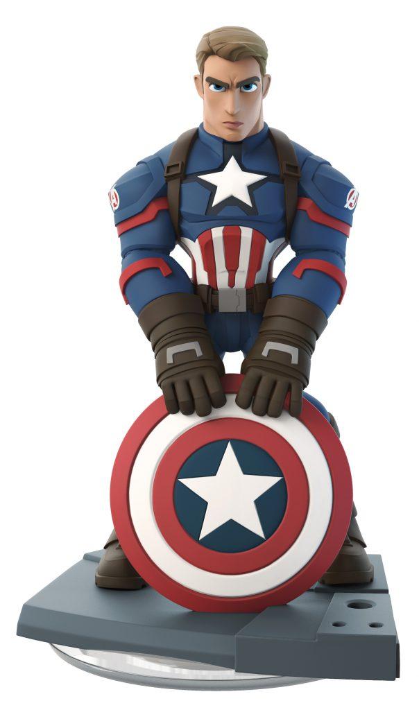 "Captain America figure for ""Disney Infinity 3.0 Edition: Marvel Battlegrounds"" (2015)"