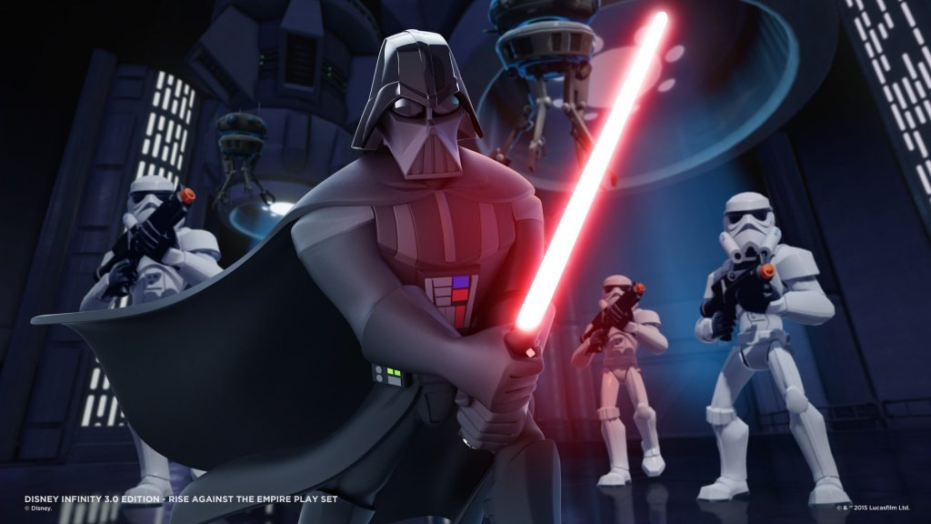 """Marketing piece for """"Disney Infinity 3.0 Edition: Star Wars Rise Against the Empire"""" Play Set (2015)"""
