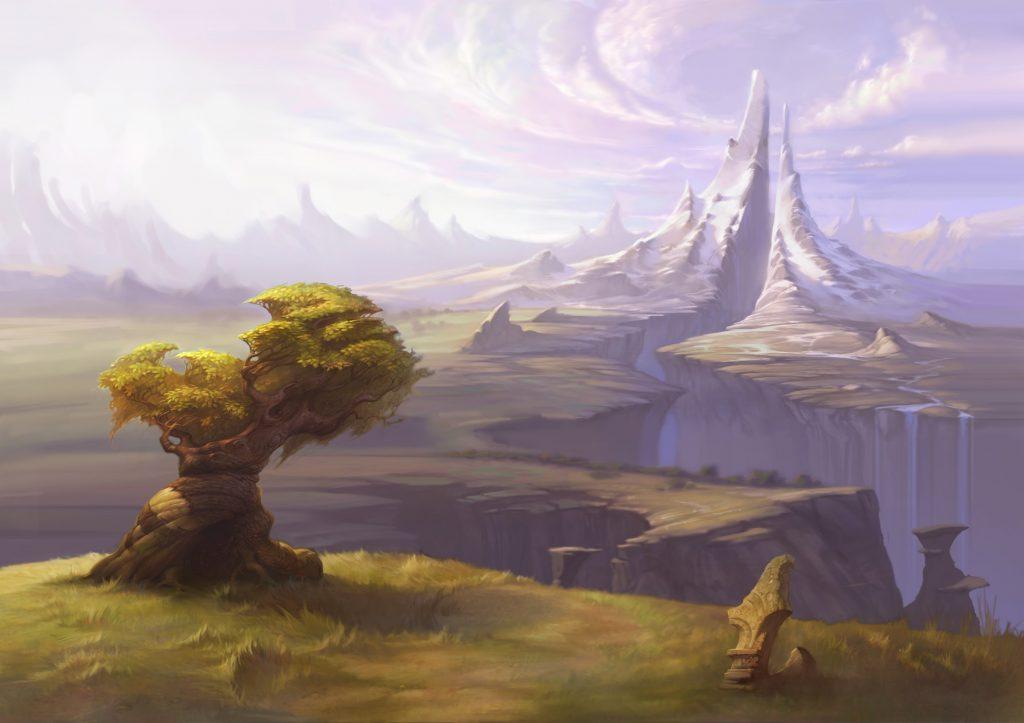 "Environment Concept Art for ""Jabberwocky"" (2004 - unreleased)"